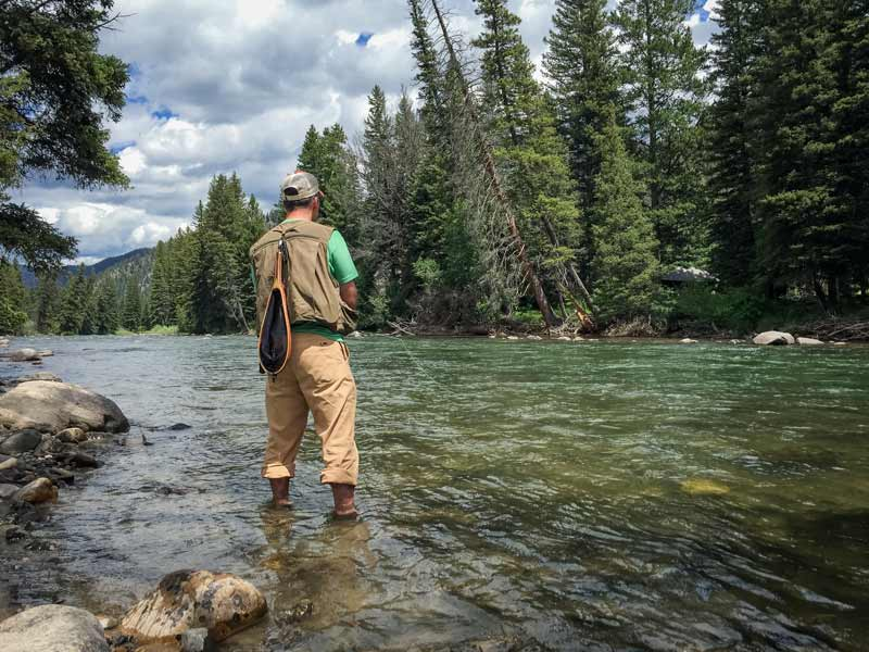 fly fishing alpine wy hotel