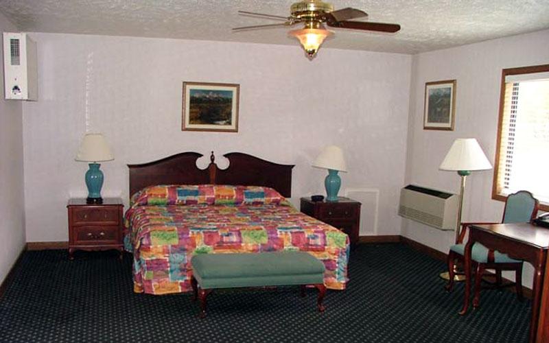 standard motel alpine wyoming motel rooms